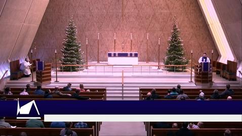 Thumbnail for entry Kramer Chapel Sermon - Tuesday, December 17, 2019