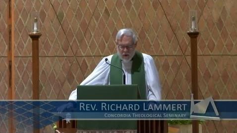 Thumbnail for entry Kramer Chapel Sermon - November 10, 2017