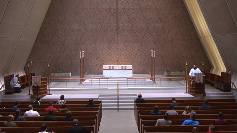 Thumbnail for entry Kramer Chapel Sermon - Monday, May 17, 2021