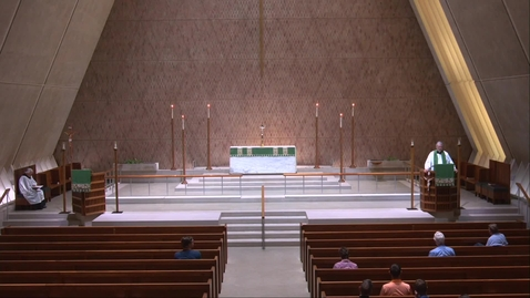Thumbnail for entry Kramer Chapel Sermon - Monday, August 9, 2021