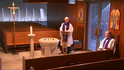 Thumbnail for entry Kramer Chapel Sermon - Wednesday, April 01, 2020