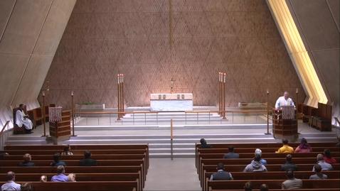 Thumbnail for entry Kramer Chapel Sermon - Friday, April  16, 2021