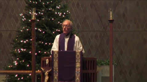 Thumbnail for entry Kramer Chapel Sermon - December 12, 2014