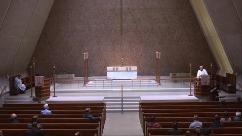 Thumbnail for entry Kramer Chapel Sermon - Tuesday, April 20, 2021