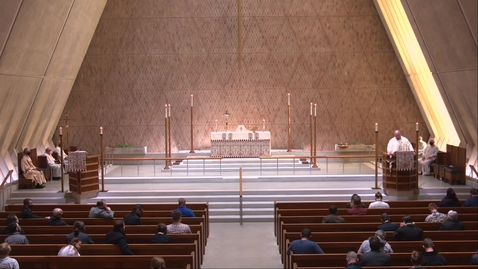 Thumbnail for entry Kramer Chapel Sermon - Friday, March 19, 2021