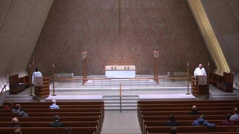 Thumbnail for entry Kramer Chapel Sermon - Thursday, May 6, 2021