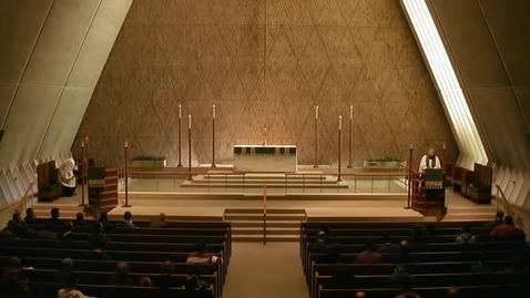 Thumbnail for entry Kramer Chapel Sermon - October 16, 2015