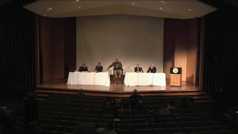 Thumbnail for entry The 32 Annual Symposium on Exegetical Theology - Panel Discussion