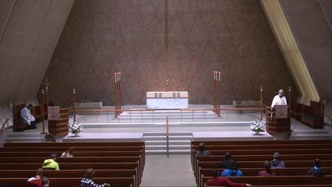 Thumbnail for entry Kramer Chapel Sermon - Thursday, April 29, 2021