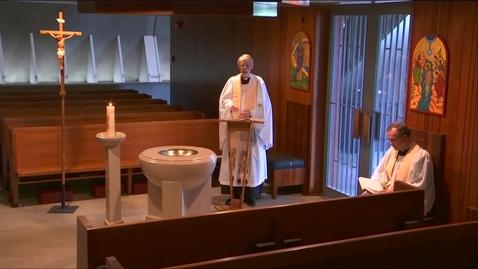 Thumbnail for entry Kramer Chapel Sermon - Friday, May 15, 2020