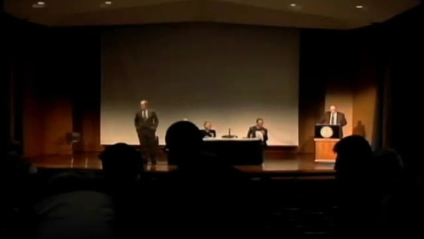Thumbnail for entry Symposia 2012 - Panel Discussion: Why History Matters in the Reading of the Gospels