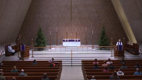 Thumbnail for entry Kramer Chapel Sermon - Monday, December 7, 2020