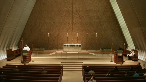 Thumbnail for entry Kramer Chapel Sermon - February 09, 2015