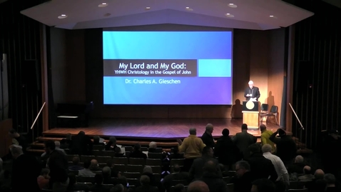 Thumbnail for entry My God and My Lord: The Christology of the Gospel of John