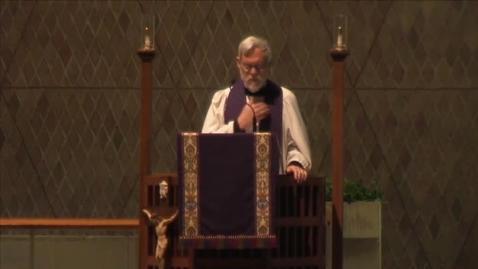 Thumbnail for entry Kramer Chapel Sermon - February 22, 2016