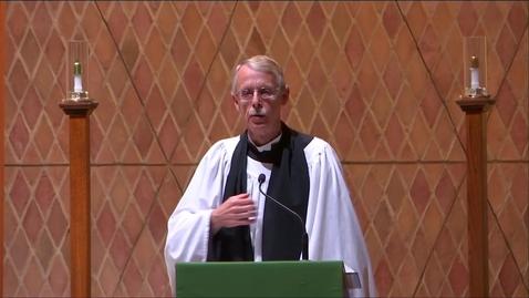 Thumbnail for entry Kramer Chapel Sermon - Friday, September 27, 2019