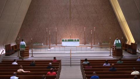 Thumbnail for entry Kramer Chapel Sermon - Monday, July 06, 2020