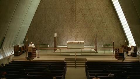 Thumbnail for entry Kramer Chapel Sermon - April 21, 2015