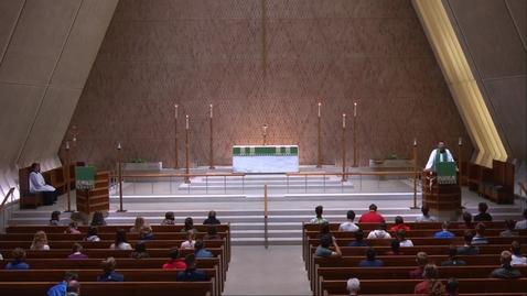 Thumbnail for entry Kramer Chapel Sermon - Friday, July 31, 2020