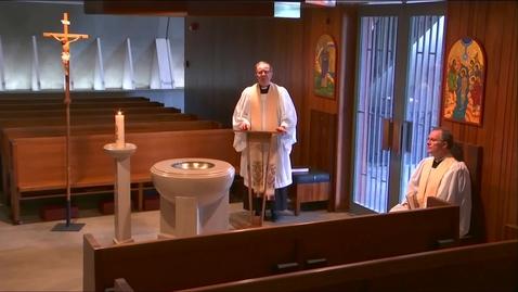 Thumbnail for entry Kramer Chapel Sermon - Thursday, May 14, 2020