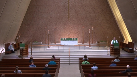Thumbnail for entry Kramer Chapel Sermon - Wednesday, July 01, 2020