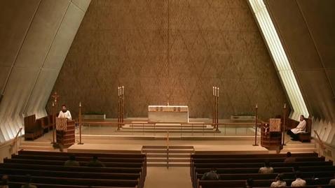 Thumbnail for entry Kramer Chapel Sermon - May 19, 2015