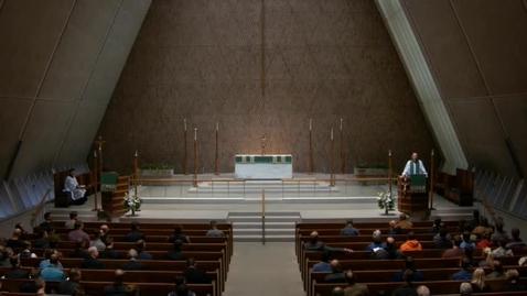 Thumbnail for entry Kramer Chapel Sermon - September 08, 2017