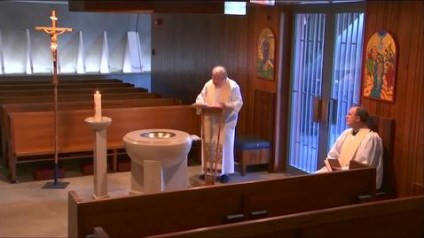 Thumbnail for entry Kramer Chapel Sermon - Wednesday, May 13, 2020