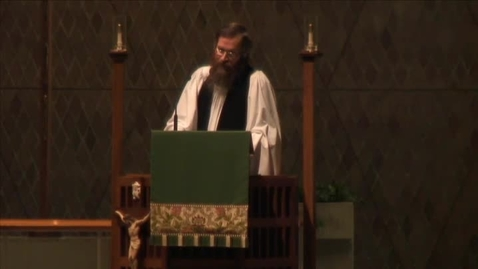 Thumbnail for entry Kramer Chapel Sermon - October 30, 2015