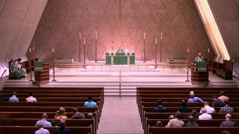 Thumbnail for entry Kramer Chapel Sermon - Wednesday, July 24, 2019