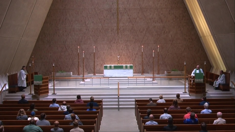 Thumbnail for entry Kramer Chapel Sermon - Tuesday, September 22, 2020