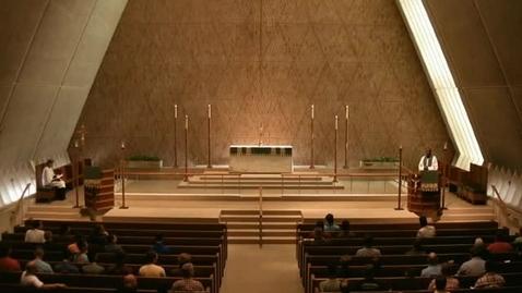 Thumbnail for entry Kramer Chapel Sermon - June 17, 2016