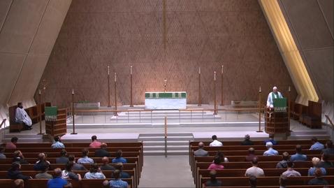 Thumbnail for entry Kramer Chapel Sermon - Monday, September 13, 2021
