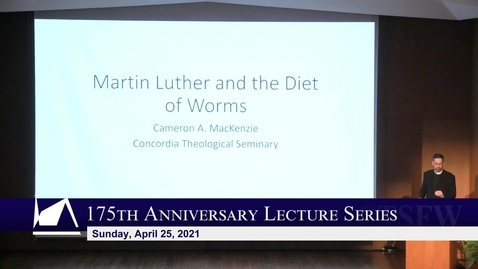 Thumbnail for entry 175th Anniversary Lecture - Rev. Dr. Cameron MacKenzie