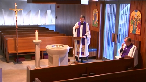 Thumbnail for entry Kramer Chapel Sermon - Thursday, April 02, 2020