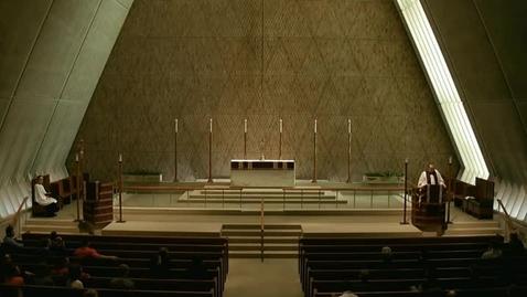 Thumbnail for entry Kramer Chapel Sermon - March 16, 2015