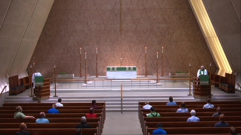 Thumbnail for entry Kramer Chapel Sermon - Monday, July 13, 2020