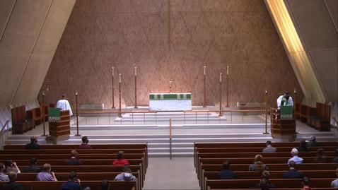 Thumbnail for entry Kramer Chapel Sermon - Thursday, October 08, 2020