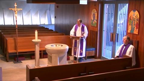 Thumbnail for entry Kramer Chapel Sermon - Wednesday, April 08, 2020