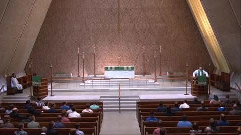 Thumbnail for entry Kramer Chapel Sermon - Thursday, September 30, 2021