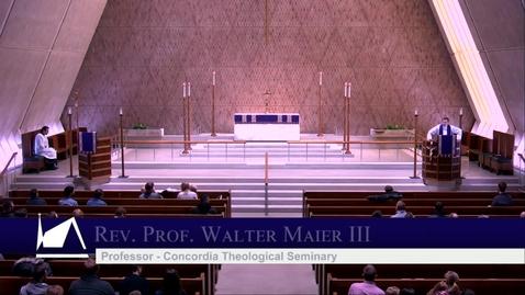 Thumbnail for entry Kramer Chapel Sermon - Thursday, February 27, 2020