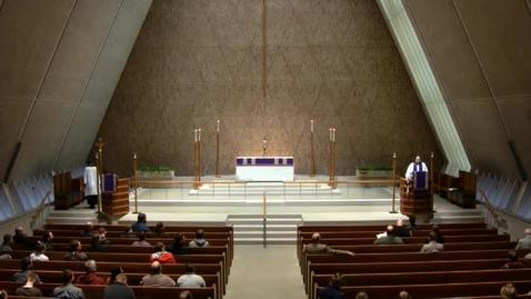 Thumbnail for entry Kramer Chapel Sermon - April 03, 2017
