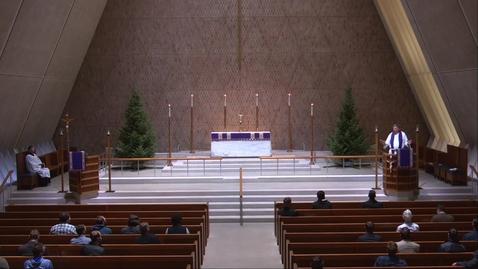 Thumbnail for entry Kramer Chapel Sermon - Thursday, December 3, 2020