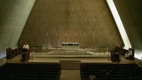 Thumbnail for entry Kramer Chapel Sermon - February 12, 2015