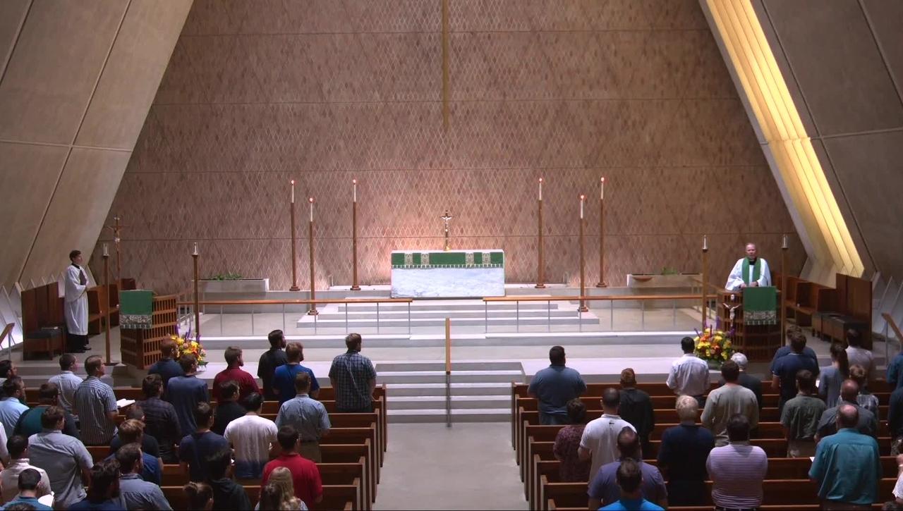 Kramer Chapel Sermon - Thursday, September 9, 2021