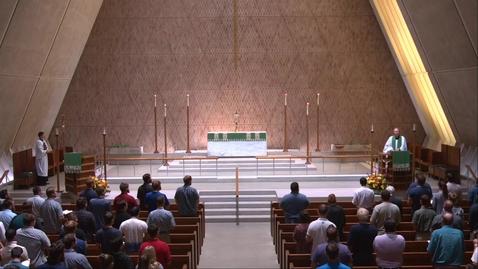 Thumbnail for entry Kramer Chapel Sermon - Thursday, September 9, 2021