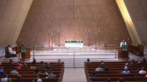 Thumbnail for entry Kramer Chapel Sermon - Friday, October 16, 2020