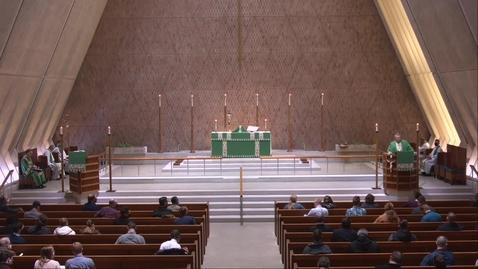 Thumbnail for entry Kramer Chapel Sermon - Wednesday, January 27, 2021