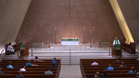 Thumbnail for entry Kramer Chapel Sermon - Tuesday, July 07, 2020