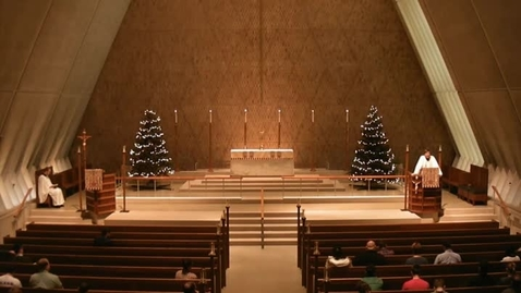 Thumbnail for entry Kramer Chapel Sermon - January 15, 2016